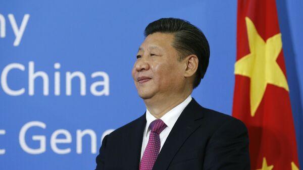 Lídr Číny Si Ťin-pching - Sputnik Česká republika