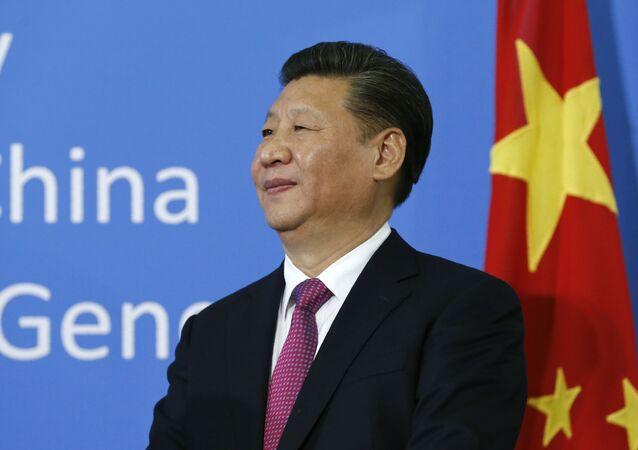 Lídr Číny Si Ťin-pching