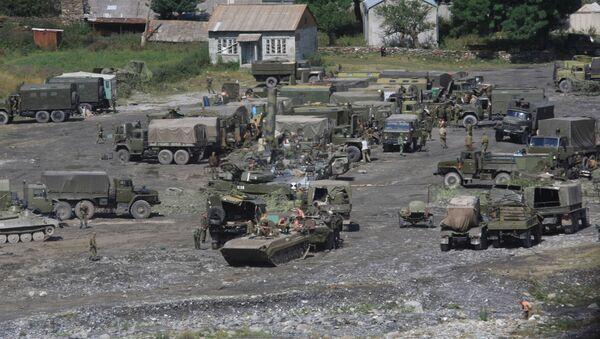 Vojenská základna v Jižní Osetii - Sputnik Česká republika