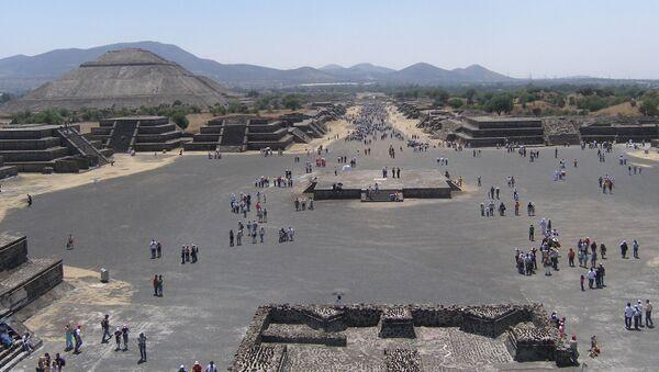 Město Teotihuacán - Sputnik Česká republika