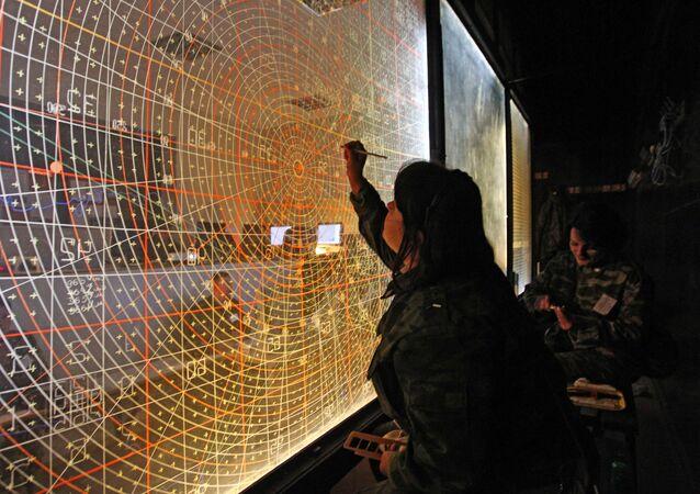 Velicí středisko řízení cvičení vojsk protivzdušné obrany