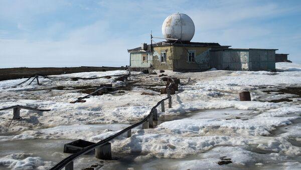 Polární stanice Ostrov Osamělost v Karském moři - Sputnik Česká republika