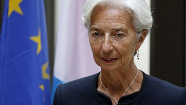 Christine Lagardeová - Sputnik Česká republika
