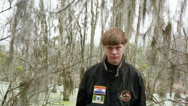 Podezřelý ze střelby v Charlestonu Dylann Roof - Sputnik Česká republika