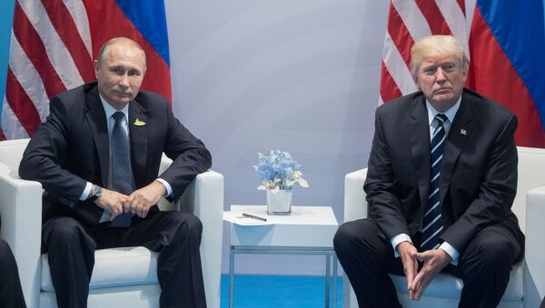 Putin a Trump - Sputnik Česká republika