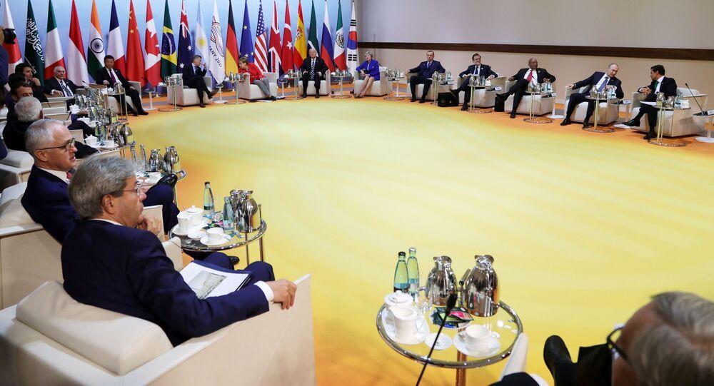 Schůzka lídrů BRICS před summitem G20