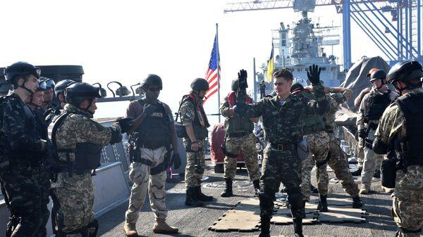 Americko-ukrajinské námořní cvičení Sea Breeze 2017 - Sputnik Česká republika