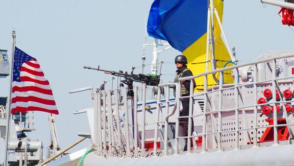 Americko-ukrajinské námořní cvičení Sea Breeze - Sputnik Česká republika