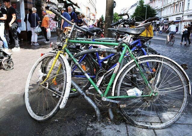 Následky nepokojů v Hamburku