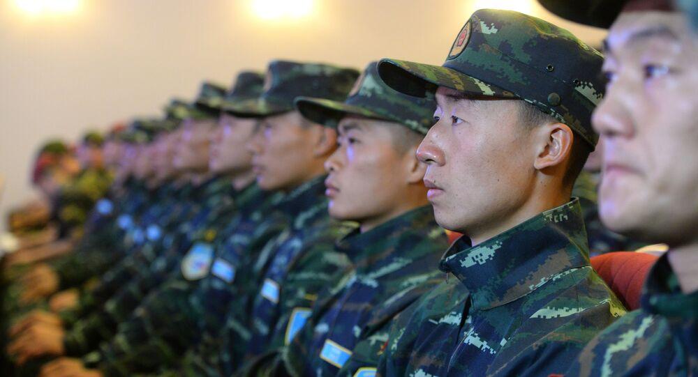Čínská vojenská policie
