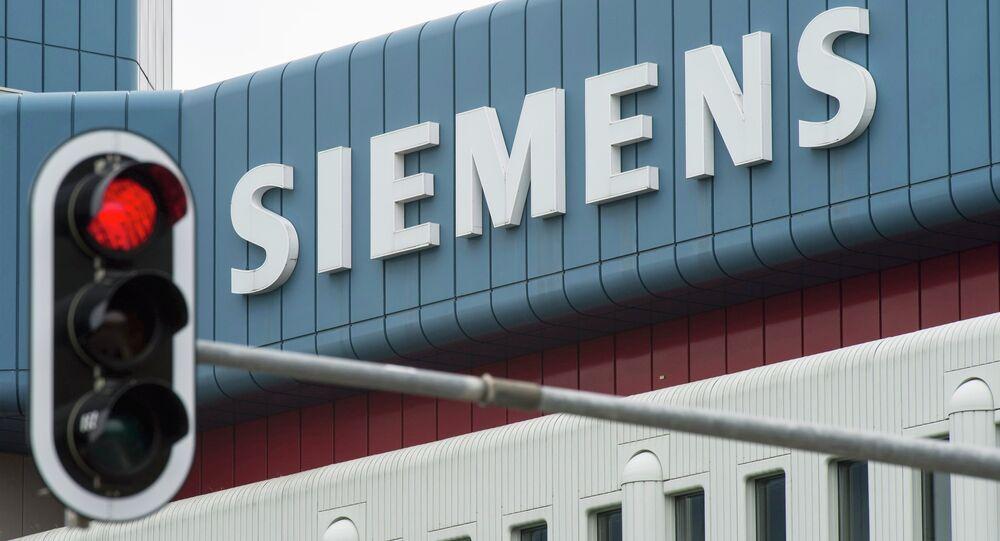 Logo společnosti Siemens