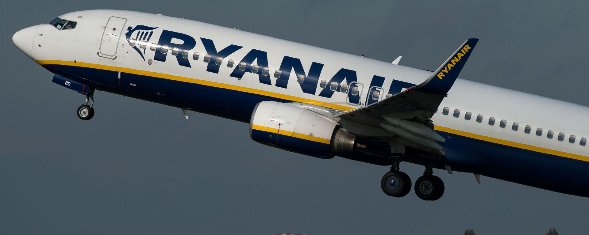 Letadlo společnosti Ryanair - Sputnik Česká republika, 1920, 26.05.2021
