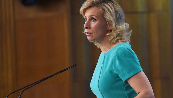 Mluvčí ruského MZV Maria Zacharovová - Sputnik Česká republika
