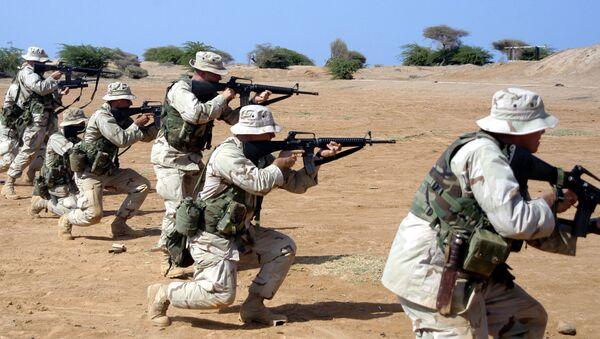 Vojenská cvičení na americké základně v Camp Lemonnier v Džibutsku - Sputnik Česká republika