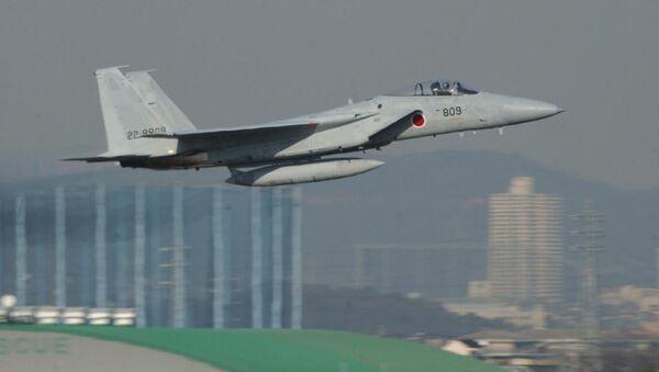 Japonská stíhačka F-15 - Sputnik Česká republika