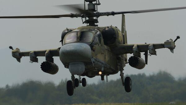 Vrtulník Ka-52 Aligátor - Sputnik Česká republika