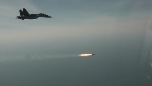 Сvičení Su-30SM v Sevastopolu - Sputnik Česká republika