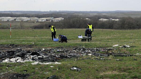 Na místě pádu MH17 - Sputnik Česká republika