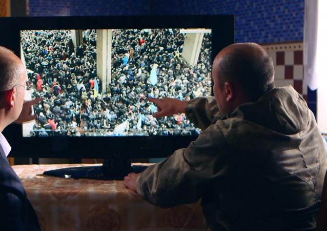 Záběr z filmu Krym. Cesta do vlastí