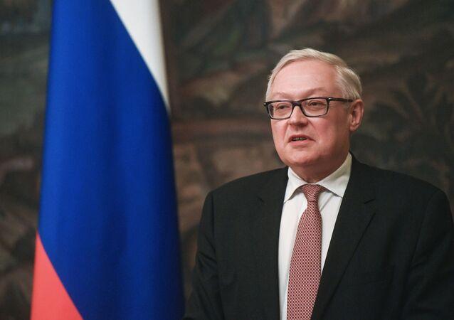 Náměstek ministra zahraničních věcí RF Sergej Rjabkov