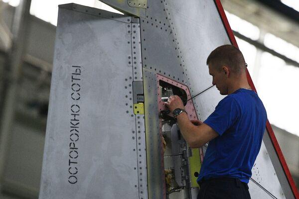 Výroba letadel MiG v Moskevské oblasti - Sputnik Česká republika