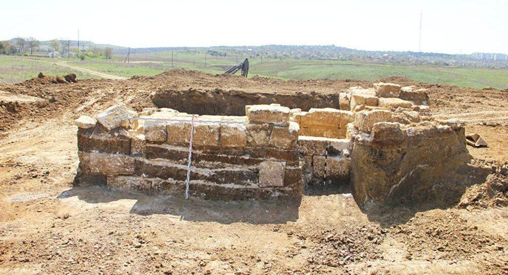 Starobylá řecká hrobka na Krymu