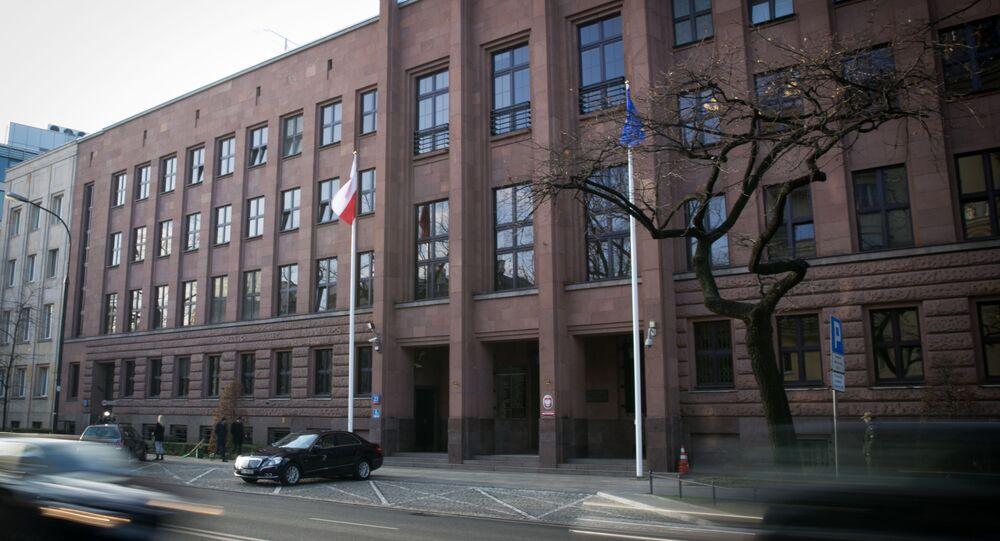 Budova polského MZV ve Varšavě