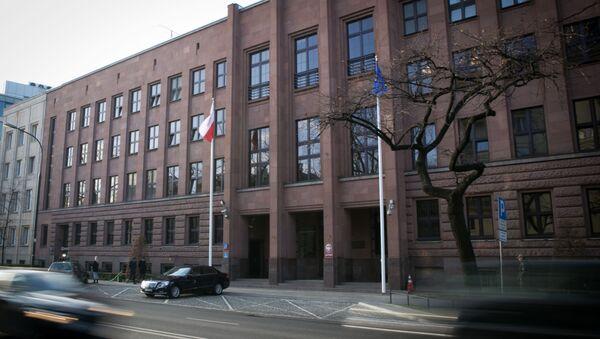 Budova polského MZV ve Varšavě - Sputnik Česká republika