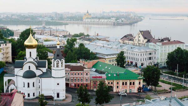 Centrum Nižního Novgorodu - Sputnik Česká republika