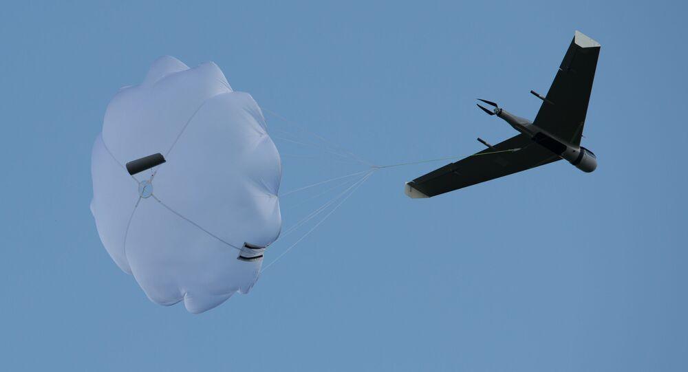 Demonstrační lety dronů