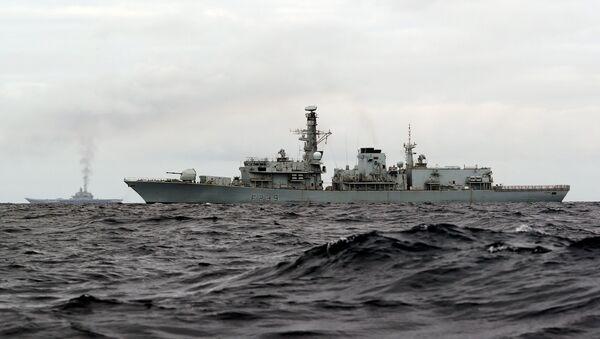 Britská fregata HMS Richmond - Sputnik Česká republika