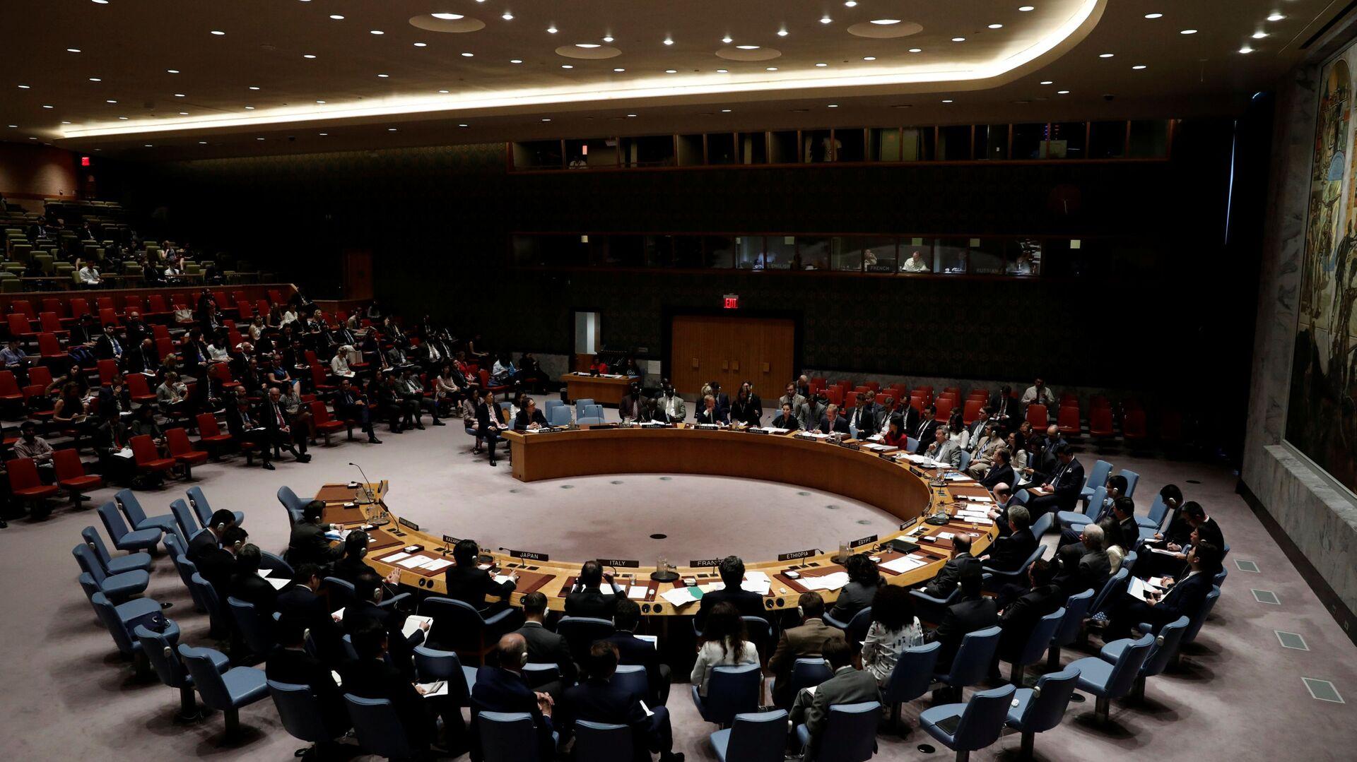 Zasedání Rady bezpečnosti OSN - Sputnik Česká republika, 1920, 16.05.2021