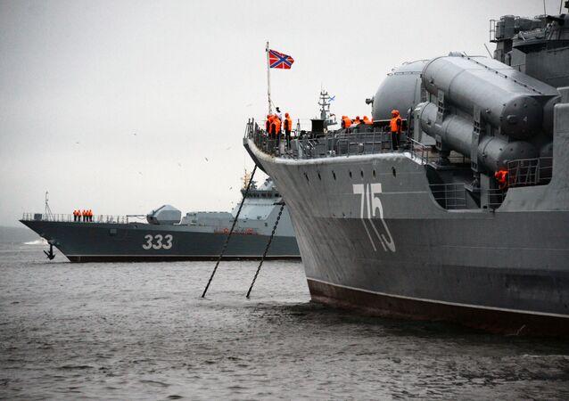 Korveta Soveršennyj Tichomořské flotily v Rusku