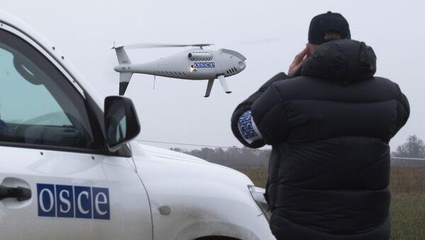 Bezpilotní letoun OBSE - Sputnik Česká republika