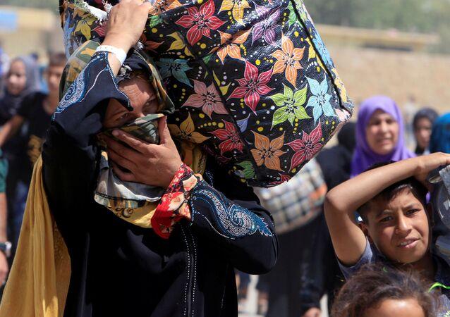 Obyvatelé Mosulu