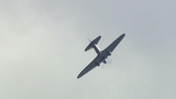 Opět na nebi: Il-2 ležel na dnu jezera 72 let - Sputnik Česká republika