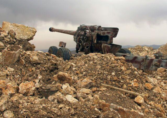 Dělo hnutí Hizballáh