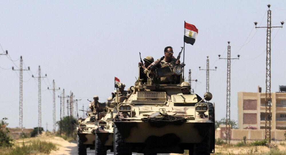 Egyptští vojáci
