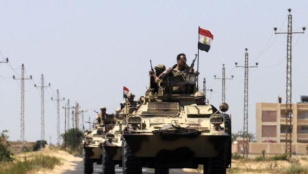 Egyptští vojáci - Sputnik Česká republika