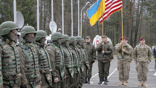 Cvičení Ukrajiny a USA. Ilustrační foto - Sputnik Česká republika