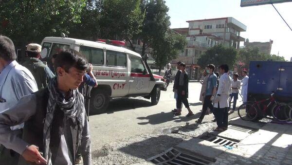 Výbuch v Kábulu - Sputnik Česká republika