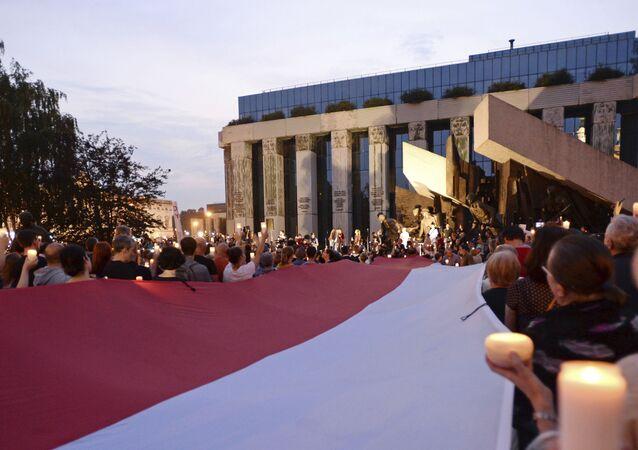 Protestní akce v Polsku