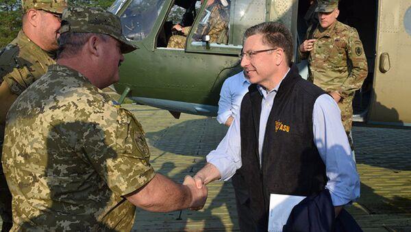 Zvláštní vyslanec USA pro Ukrajinu Kurt Volker - Sputnik Česká republika