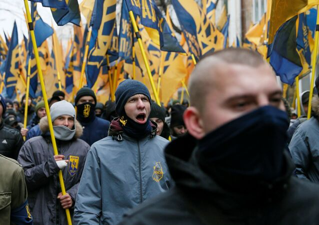 Ukrajinští nacionalisté. Ilustrační foto