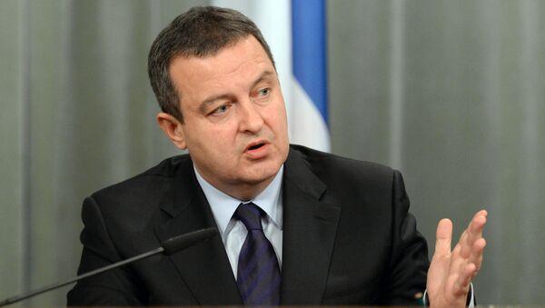 Ministr zahraničí Srbska Ivica Dačič - Sputnik Česká republika