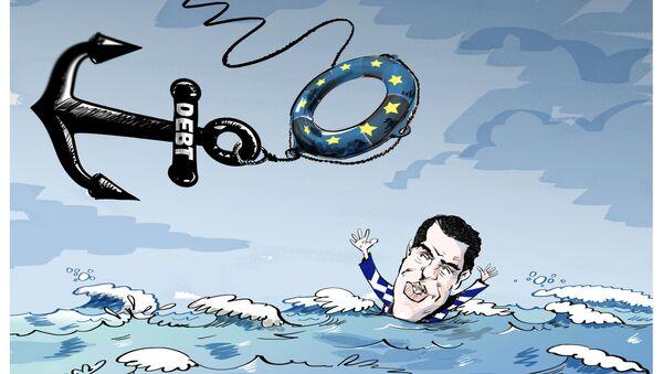 Kdo pomůže Řecku? - Sputnik Česká republika