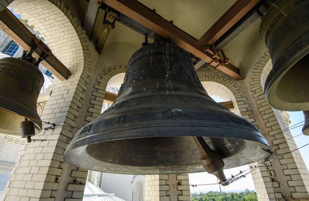 Zvony chráma svatého Mikuláše v Kronštadtu