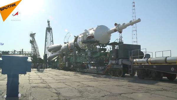 53. výprava Sojuzu k ISS. Video - Sputnik Česká republika