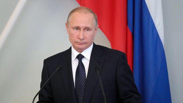 Vladimir Putin ve Finsku - Sputnik Česká republika