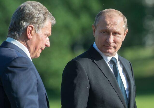 Sauli Niinistö a Vladimir Putin